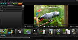 Diashow Software threecubes Fotoshow HD