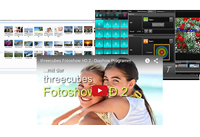 Diashow Software threecubes Fotoshow HD 3